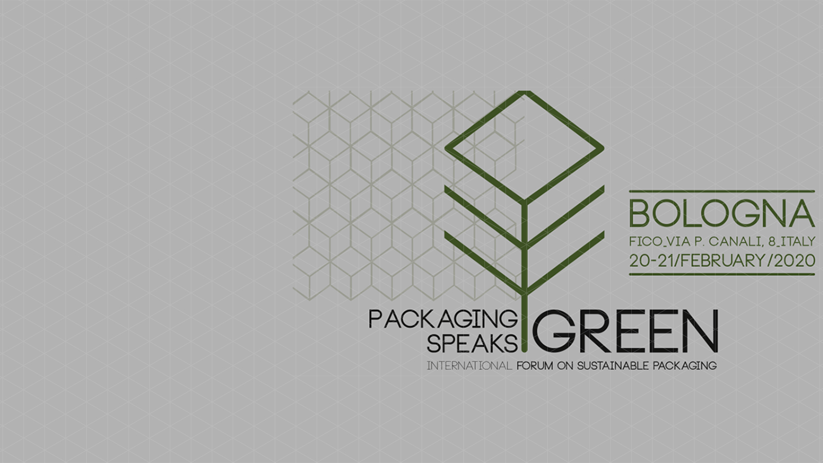 Packaging Speaks Green Convention