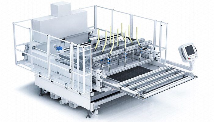 DGD loading systems for presses