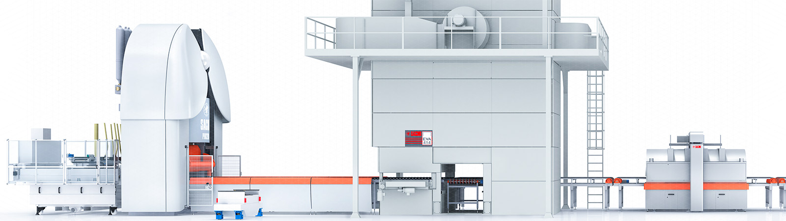 COMPLETE MACHINES AND SYSTEMS FOR CERAMIC TILES AND SLABS